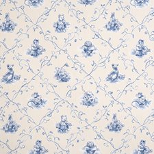 Cornflower Juvenile Drapery and Upholstery Fabric by Fabricut