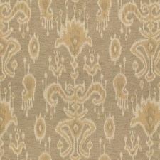 Beige/Yellow/White Ethnic Drapery and Upholstery Fabric by Kravet