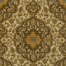 Beige/Grey/Gold Damask Drapery and Upholstery Fabric by Kravet