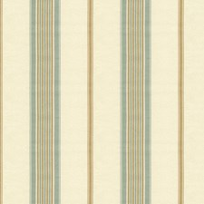 Beige/Spa Stripes Drapery and Upholstery Fabric by Kravet
