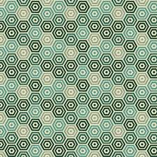 Lagoon Geometric Drapery and Upholstery Fabric by Kravet