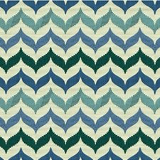 Mermaid Bargellos Drapery and Upholstery Fabric by Kravet
