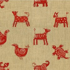 Pueblo Animal Drapery and Upholstery Fabric by Kravet