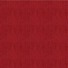 Red Herringbone Drapery and Upholstery Fabric by Kravet