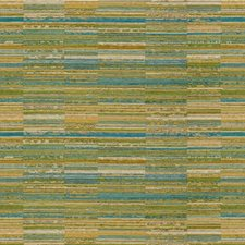 Celery/Gold/Light Blue Texture Drapery and Upholstery Fabric by Kravet