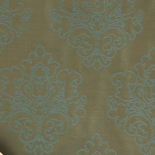 Spa Damask Drapery and Upholstery Fabric by Fabricut