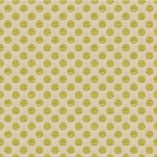 Chartreuse Dots Drapery and Upholstery Fabric by Kravet