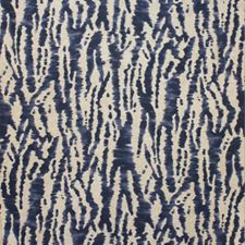 Indigo Drapery and Upholstery Fabric by Clarence House
