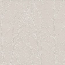 Light Grey Botanical Drapery and Upholstery Fabric by Kravet