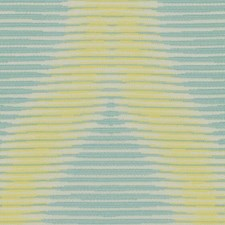 Turquoise/Celery Modern Drapery and Upholstery Fabric by Kravet