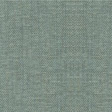 Turquoise/Ivory/Metallic Solids Drapery and Upholstery Fabric by Kravet