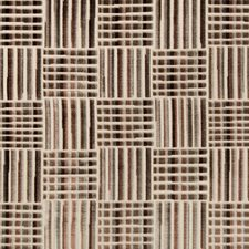 Brown/Espresso/Rust Geometric Drapery and Upholstery Fabric by Kravet