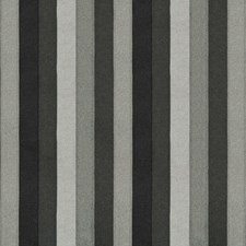 Charcoal Stripes Drapery and Upholstery Fabric by Kravet