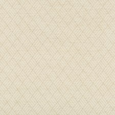 Ivory/Beige Geometric Drapery and Upholstery Fabric by Kravet