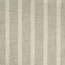 Grey/White Stripes Drapery and Upholstery Fabric by Kravet