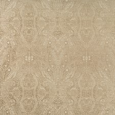 Beige/Taupe Paisley Drapery and Upholstery Fabric by Kravet