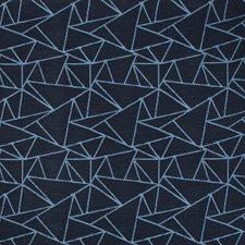 Dark Blue/Blue Modern Drapery and Upholstery Fabric by Kravet