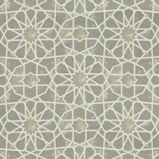 Light Grey/Beige/Ivory Ethnic Drapery and Upholstery Fabric by Kravet