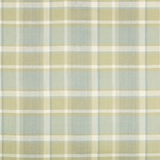 Aloe Plaid Drapery and Upholstery Fabric by Kravet
