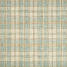 Light Blue/Celery/Ivory Plaid Drapery and Upholstery Fabric by Kravet