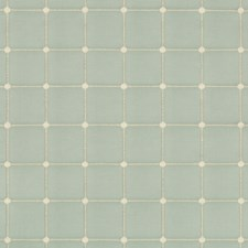 Spa/Light Green Plaid Drapery and Upholstery Fabric by Kravet