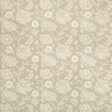 Beige/Khaki Botanical Drapery and Upholstery Fabric by Kravet
