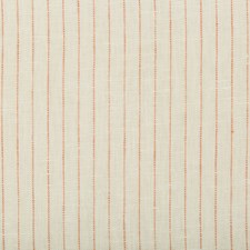 Ivory/Orange Stripes Drapery and Upholstery Fabric by Kravet