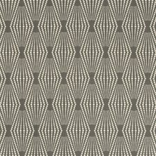 Grey/White Geometric Drapery and Upholstery Fabric by Kravet