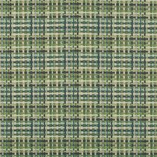 Green/Olive Green Check Drapery and Upholstery Fabric by Kravet