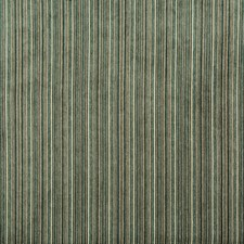 Teal Stripes Drapery and Upholstery Fabric by Kravet