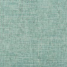Turquoise/Ivory Solids Drapery and Upholstery Fabric by Kravet