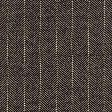 Black/White/Charcoal Herringbone Drapery and Upholstery Fabric by Kravet