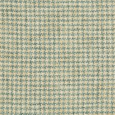 Spa/Ivory/Green Check Drapery and Upholstery Fabric by Kravet