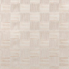White/Pastel/Salmon Geometric Drapery and Upholstery Fabric by Kravet