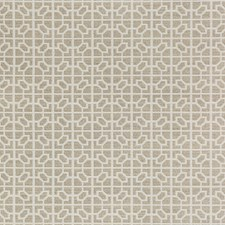 Sand Geometric Drapery and Upholstery Fabric by Kravet
