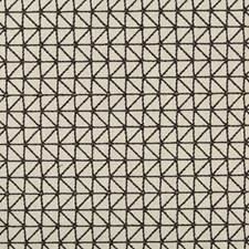 White/Black Geometric Drapery and Upholstery Fabric by Kravet