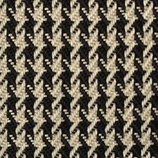 Black/creme Drapery and Upholstery Fabric by Duralee