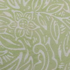 Pistachio Botanical Drapery and Upholstery Fabric by Duralee