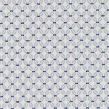 Sapphire Geometric Drapery and Upholstery Fabric by Duralee