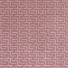 Mauve Geometric Drapery and Upholstery Fabric by Duralee