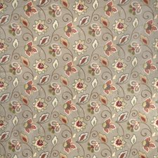 Sage Floral Drapery and Upholstery Fabric by Fabricut