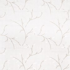 Oyster Embroidery Drapery and Upholstery Fabric by Fabricut