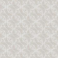 Linen Medallion Drapery and Upholstery Fabric by Fabricut