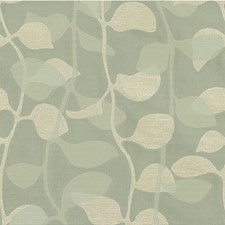 Beach Glass Botanical Drapery and Upholstery Fabric by Kravet