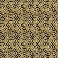 Gold Contemporary Drapery and Upholstery Fabric by Stroheim