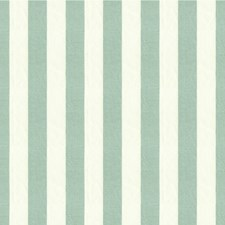 Light Blue/White Stripes Drapery and Upholstery Fabric by Kravet