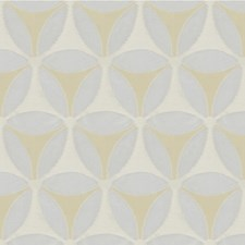 Lunar Botanical Drapery and Upholstery Fabric by Kravet