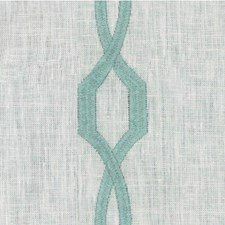 Spa Geometric Drapery and Upholstery Fabric by Kravet