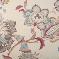 Lily Botanical Drapery and Upholstery Fabric by Duralee