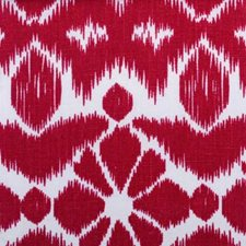 Cranberry Ethnic Drapery and Upholstery Fabric by Duralee